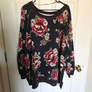 Brand new Free People tunic sweater